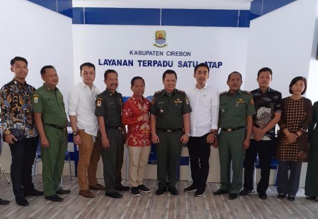 LTSA Kabupaten Cirebon Perkuat Pembiyaan KUR bagi PMI