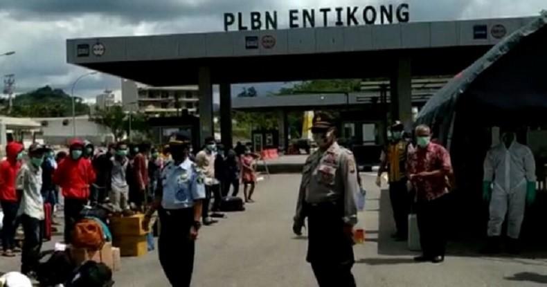 Setiap hari 300 Pekerja Migran Indonesia Pulang melalui Kalimantan Barat